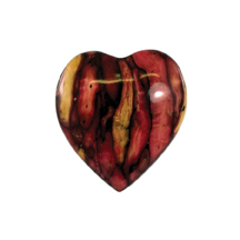 Heather Heart Brooch for Mothers Day