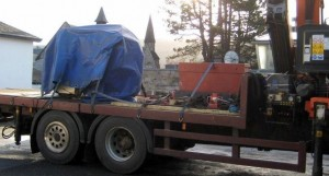 Pitlochry New Lathe Delivery